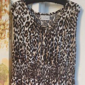 Leopard Print Maxi Dress by Avenue